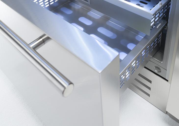 KS899TST Freezer Open