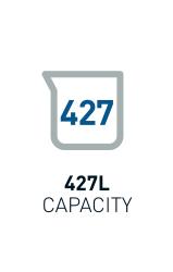 427L Capacity