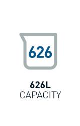 626L Capacity
